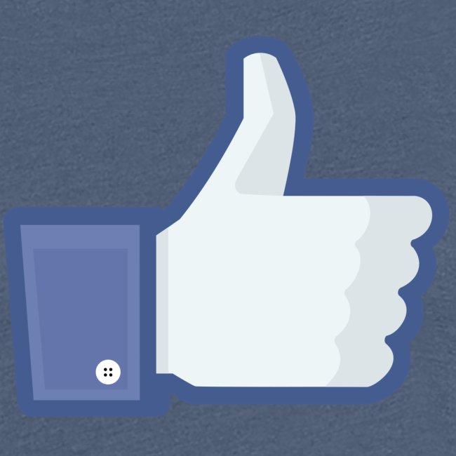 Facebook like thumb png