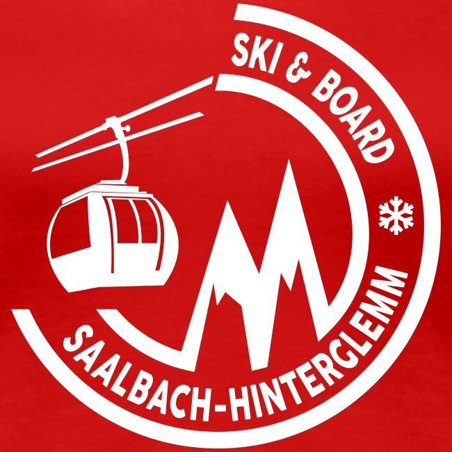 Ski & Board embleem Saalbach Hinterglemm