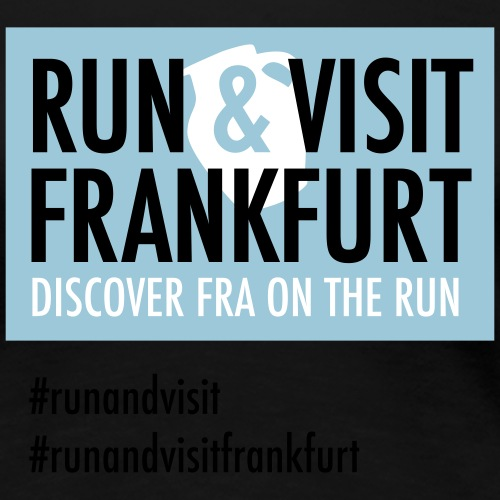 Run Visit Frankfurt - Frauen Premium T-Shirt