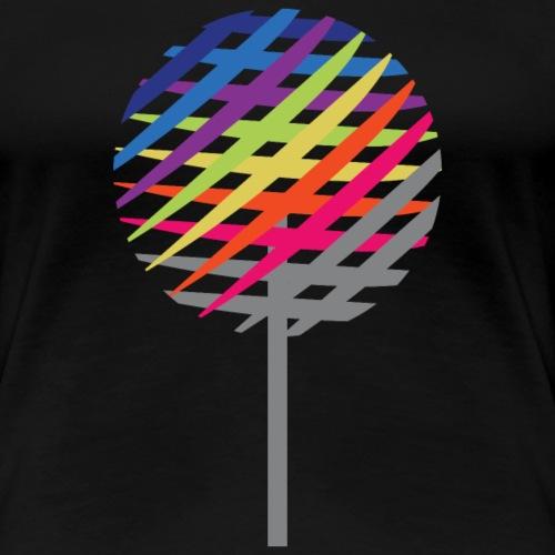 Rainbow Tree - Dame premium T-shirt