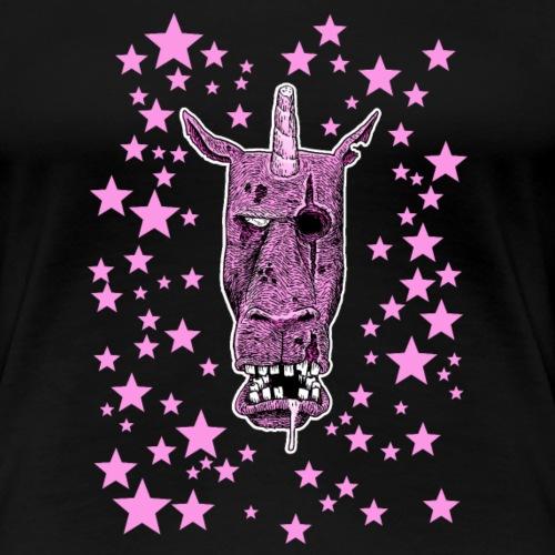 Zombie Licorne - T-shirt Premium Femme
