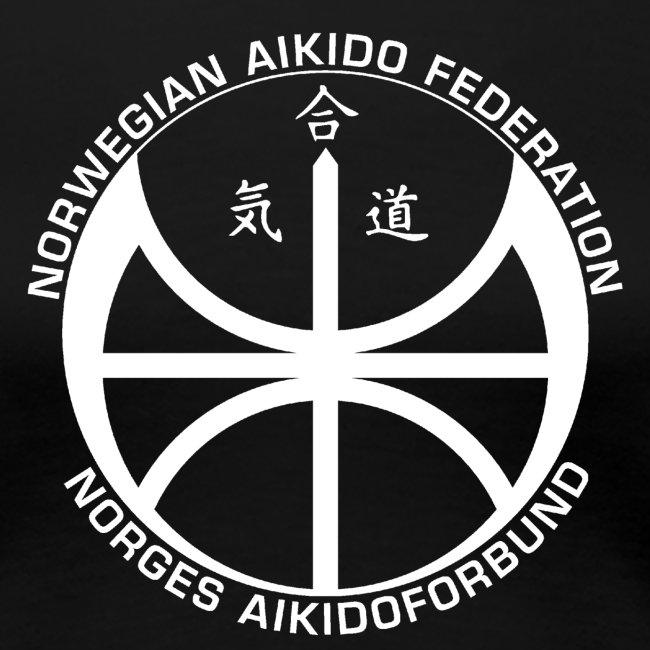 Hvit NAF logo