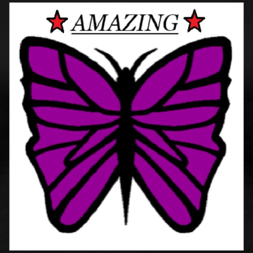 Motiv fjäril, Butterfly amazing - Premium-T-shirt dam
