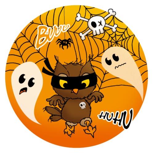 Halloween Eule bymoni - Frauen Premium T-Shirt
