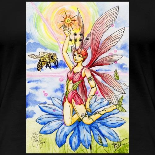 Fée fleur épanouie - T-shirt Premium Femme