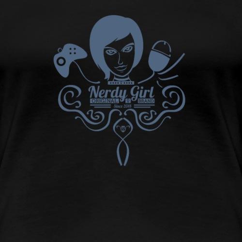 Nerdy girl - T-shirt Premium Femme