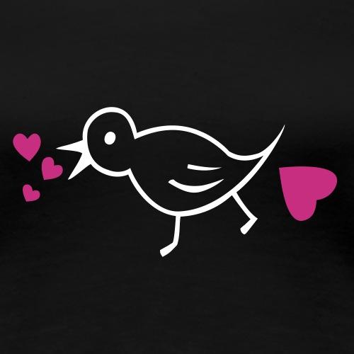 Spatz Liebe - Frauen Premium T-Shirt