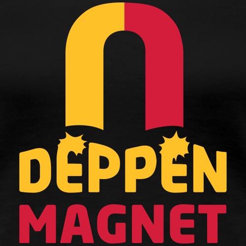 Deppenmagnet - Frauen Premium T-Shirt