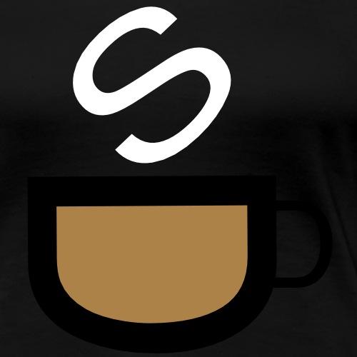 cafe - Frauen Premium T-Shirt