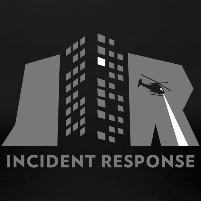 Incident response (monochrome)