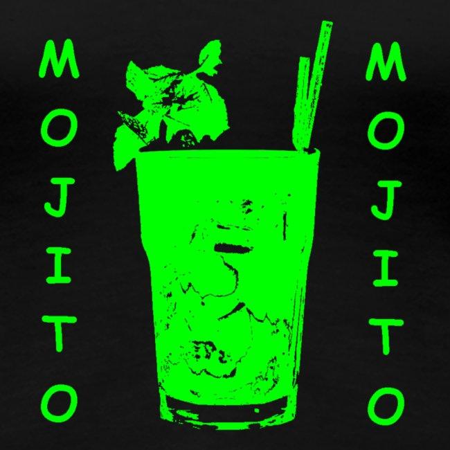 Mojito glass bicchiere green 3