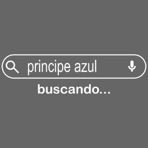 BUSCANDO PRINCIPE AZUL - Camiseta premium mujer