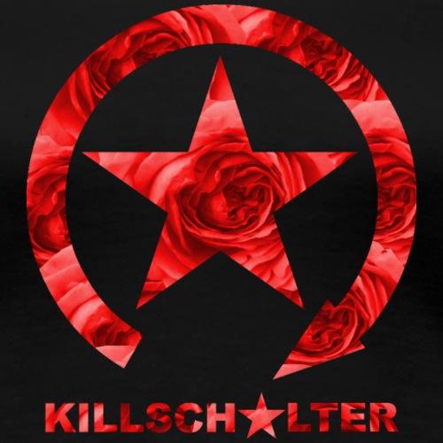 KILL SWITCH Logo Roses 9KS04 - Women's Premium T-Shirt