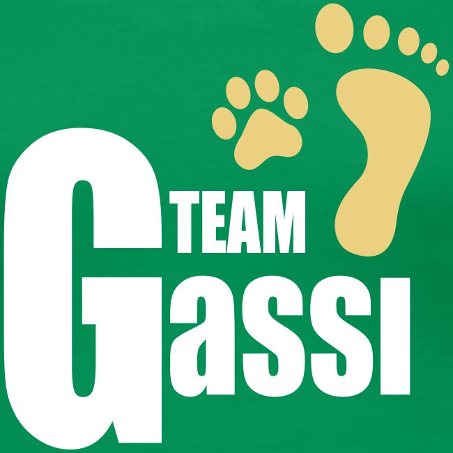 Team Gassi - Frauen Premium T-Shirt