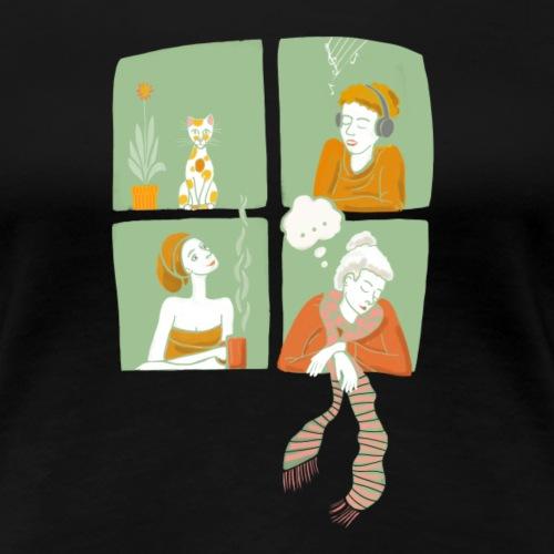 Windows20 - Nachbarn - Frauen Premium T-Shirt