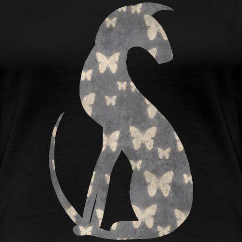 Fjärilar - Premium-T-shirt dam
