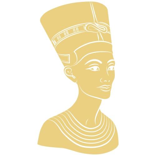 Nefertiti – Königin von Ägypten. Auch Golddruck! - Frauen Premium T-Shirt