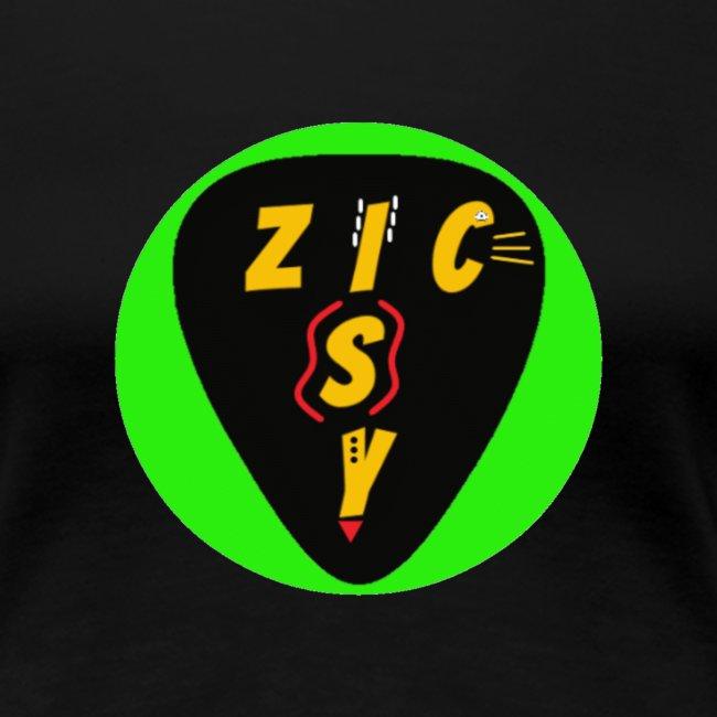 Zic izy rond vert