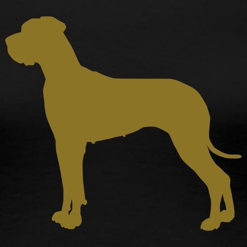Doggenhündin - Frauen Premium T-Shirt