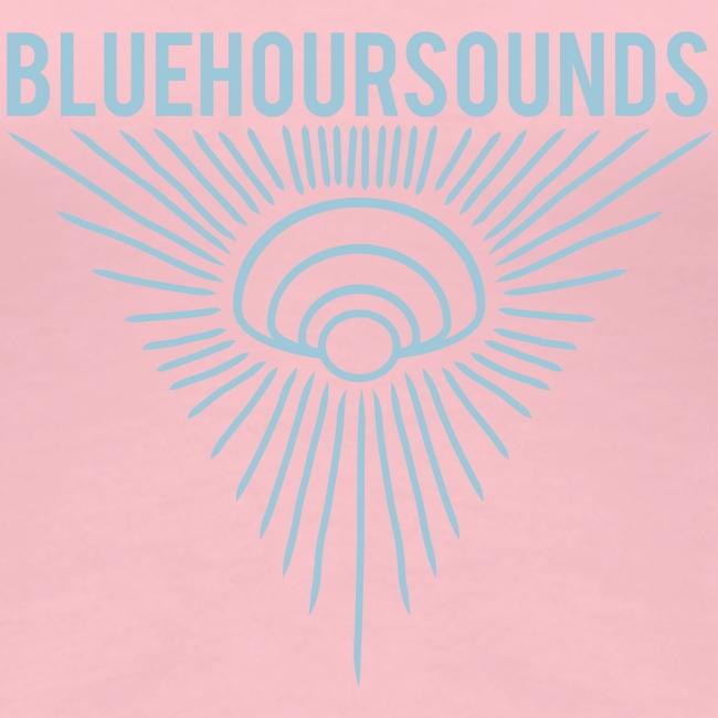 New Blue Hour Sounds logo triangle