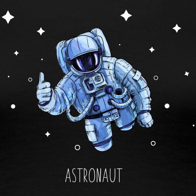 Flying Astr0naut White