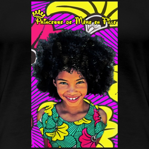 Princess - T-shirt Premium Femme