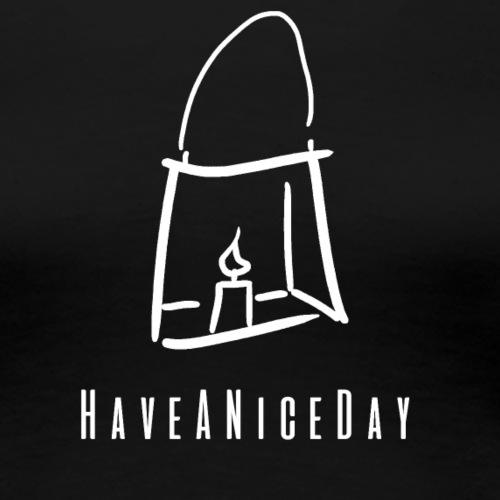 HaveANiceDay Original Dark - Frauen Premium T-Shirt