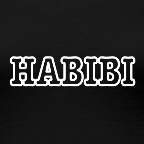 HABIBI WHITE - Frauen Premium T-Shirt
