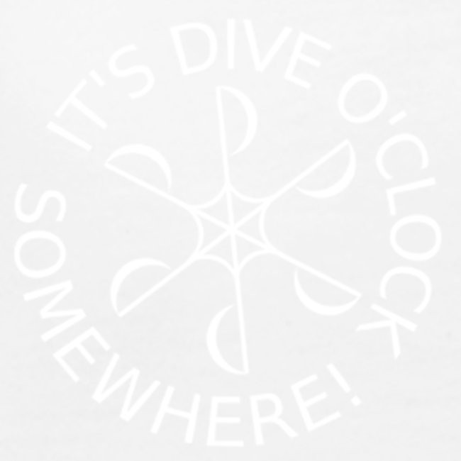 diveoclockwhite png