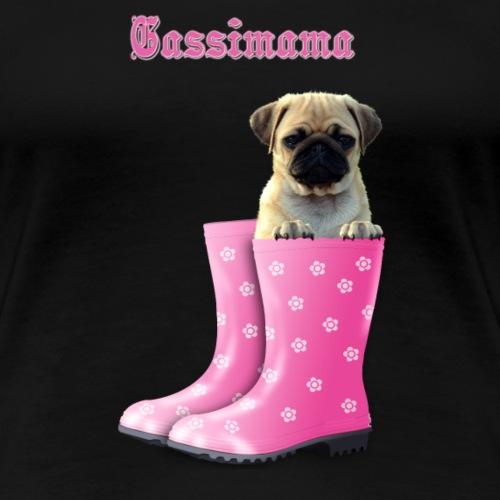 Gassimama - Frauen Premium T-Shirt