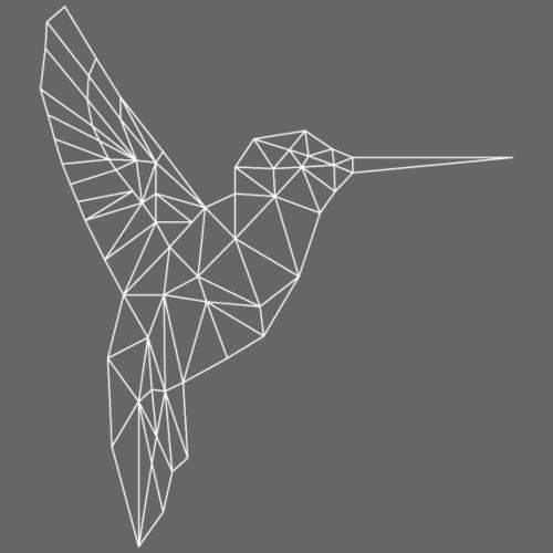 kolibri white - Frauen Premium T-Shirt