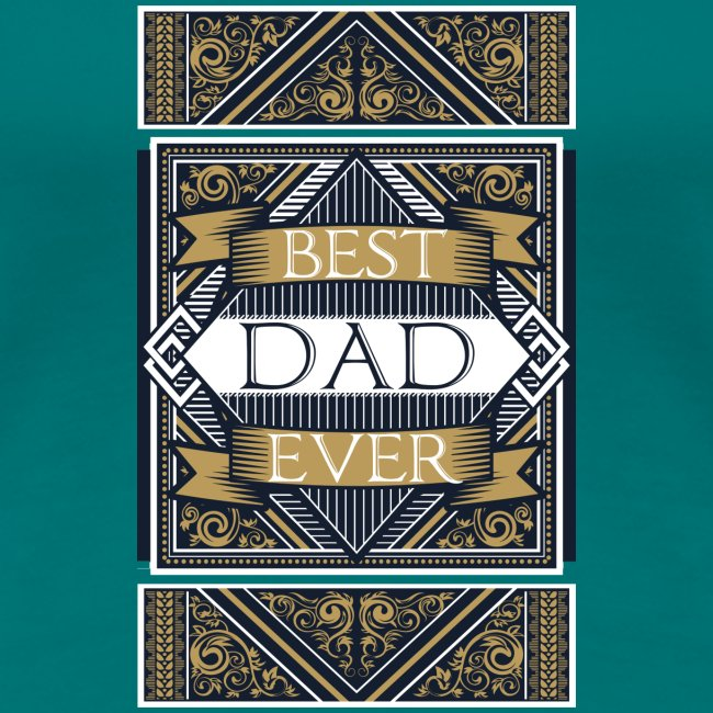 Best Dad Ever Retro Vintage Limited Edition