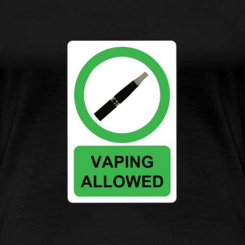 Vaper Community - Frauen Premium T-Shirt