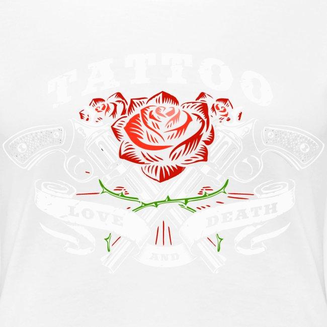 Tattoo Liebe Rosen rose Pistolen Pistolen Pistolen