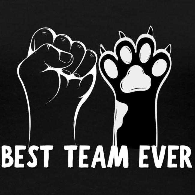 The Best Team Ever My And My Cat- Recxoo.com