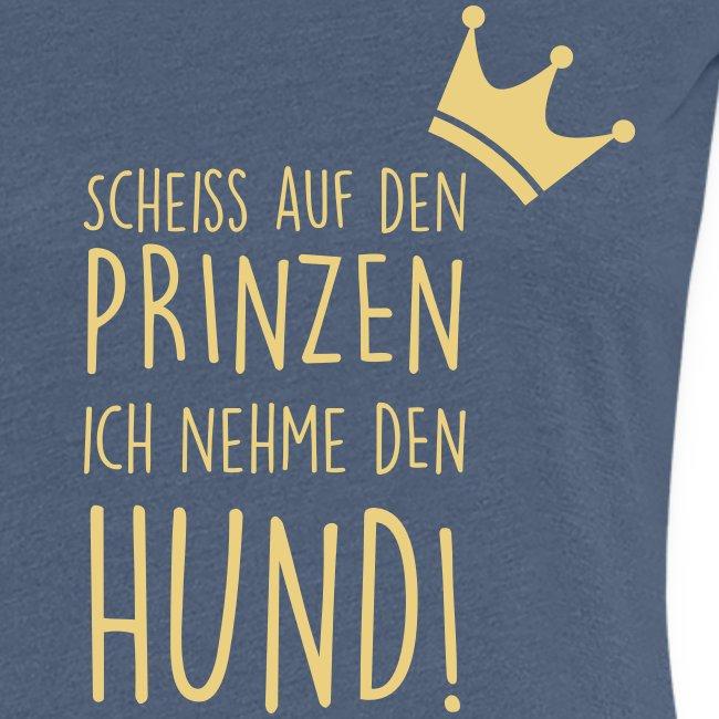 Vorschau: Prinz Hund - Frauen Premium T-Shirt
