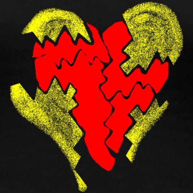 peeled heart (I saw)