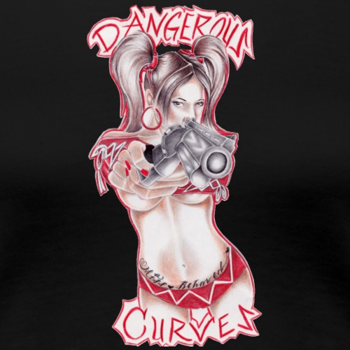 dangerous curves - Frauen Premium T-Shirt