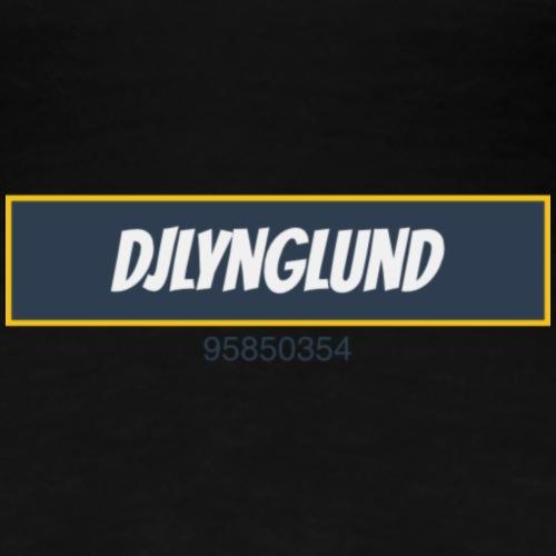 DJLynglund - Premium T-skjorte for kvinner