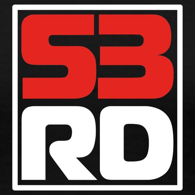 53RD Logo kompakt umrandet (weiss-rot)