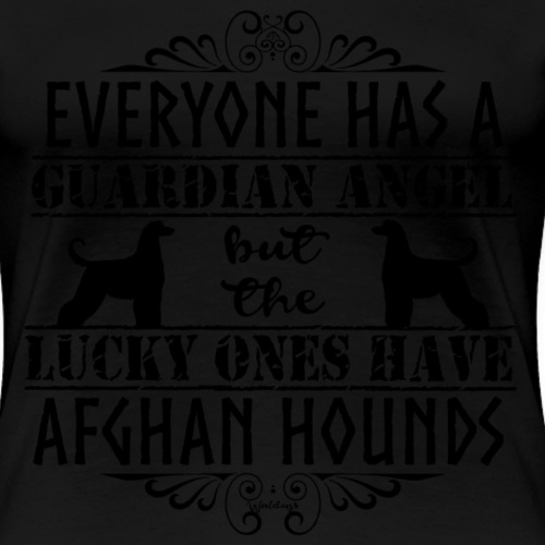 Afghan Hound Angels - Women's Premium T-Shirt