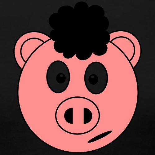 Afro Piggy - Women's Premium T-Shirt