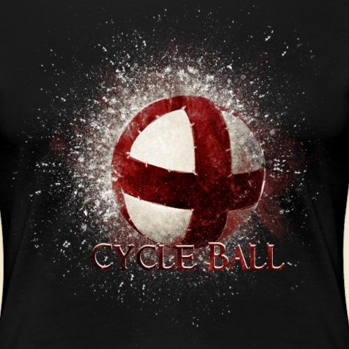 Radball | Cycle Ball - Frauen Premium T-Shirt