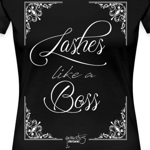 Lashes - Frauen Premium T-Shirt