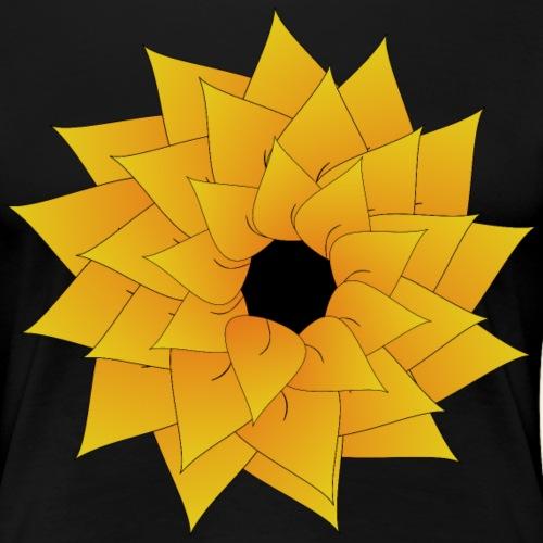 flower tulip yellow - Women's Premium T-Shirt