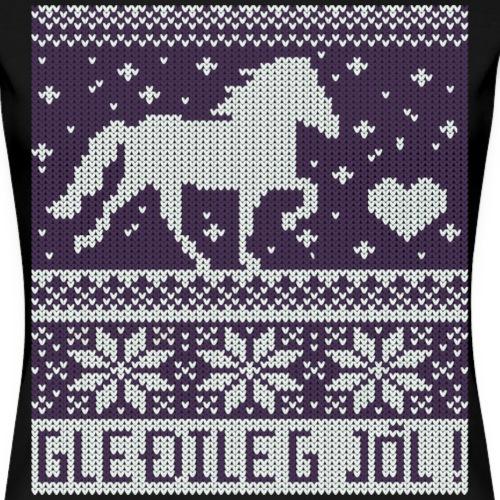 Gleðileg Jól! lila - Frauen Premium T-Shirt