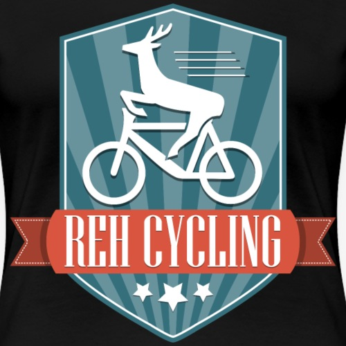 REH Cycling (Retro) - Frauen Premium T-Shirt