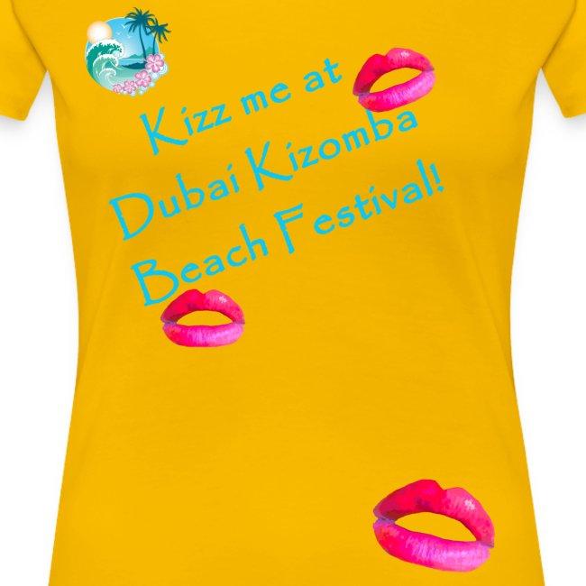 turquoise text - Kizz me at Dubai Kizomba
