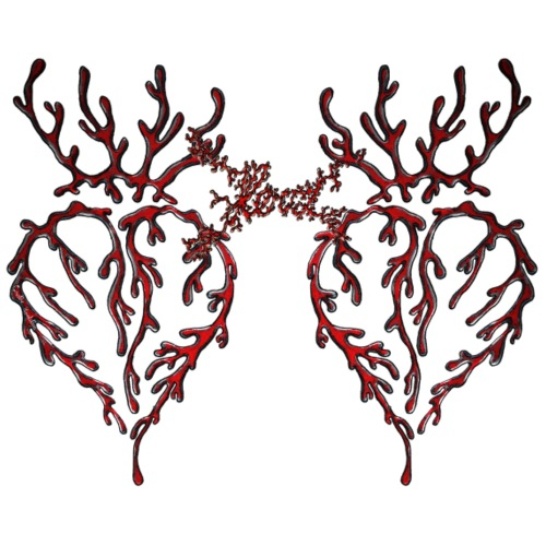 Bleeding Heart 2 - Frauen Premium T-Shirt