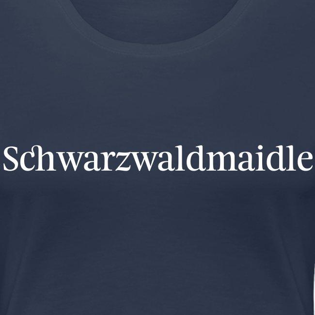 Schwarzwaldmaidle - T-Shirt